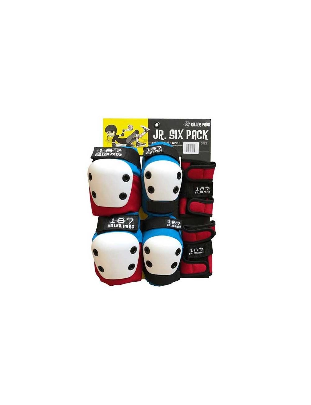 187 Six Pack Junior Set de Protecciones