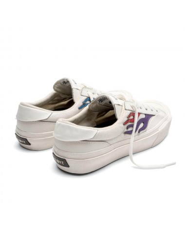 Straye Footwear Flame Cream Rainbow