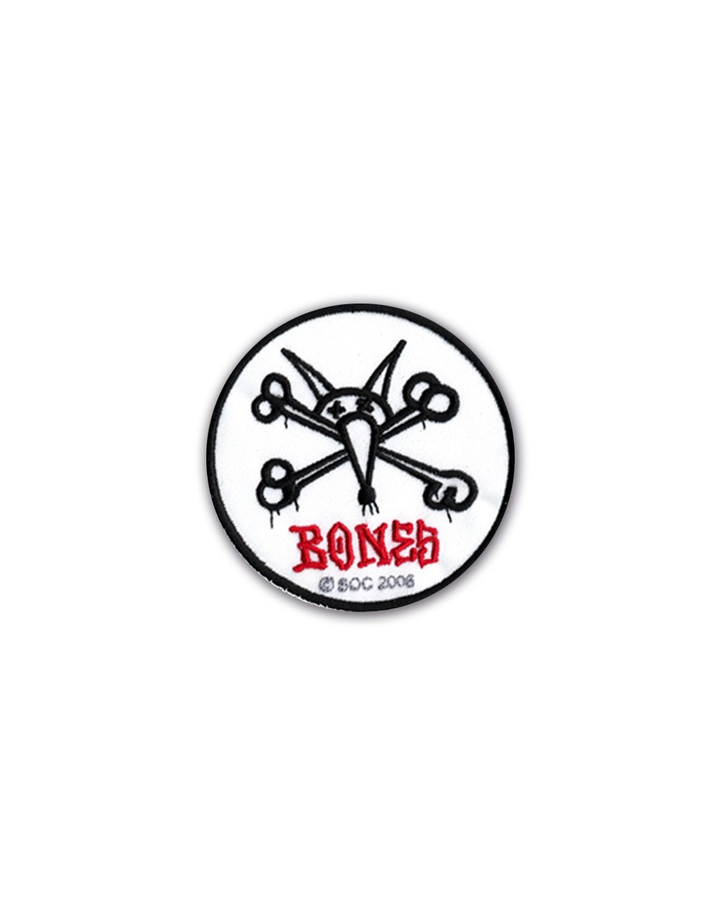 Bones Vato Rat Skateboard Parche