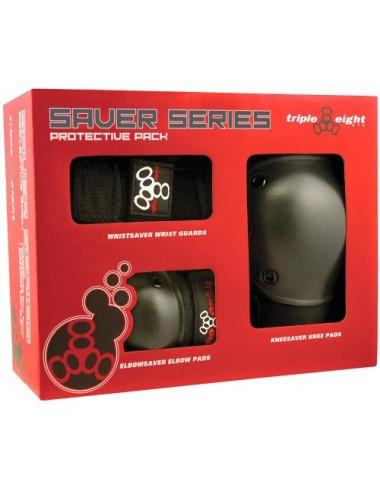 Triple 8 Saver Series 3 Pack Box (Set protecciones Junior)