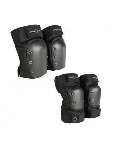 Pro-Tec Padset Street Rodiller/Codera Set Protecciones